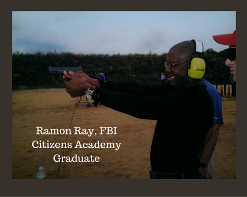Ramon Ray, FBI Citizens Academy Graduate