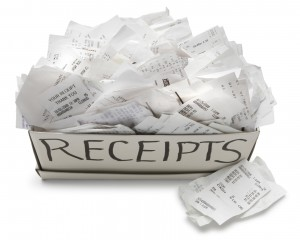 business receipts
