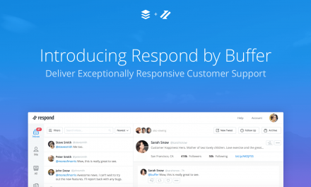 Review: Ready For Social Customer Service? @Buffer New Tool, Respond by Buffer Helps