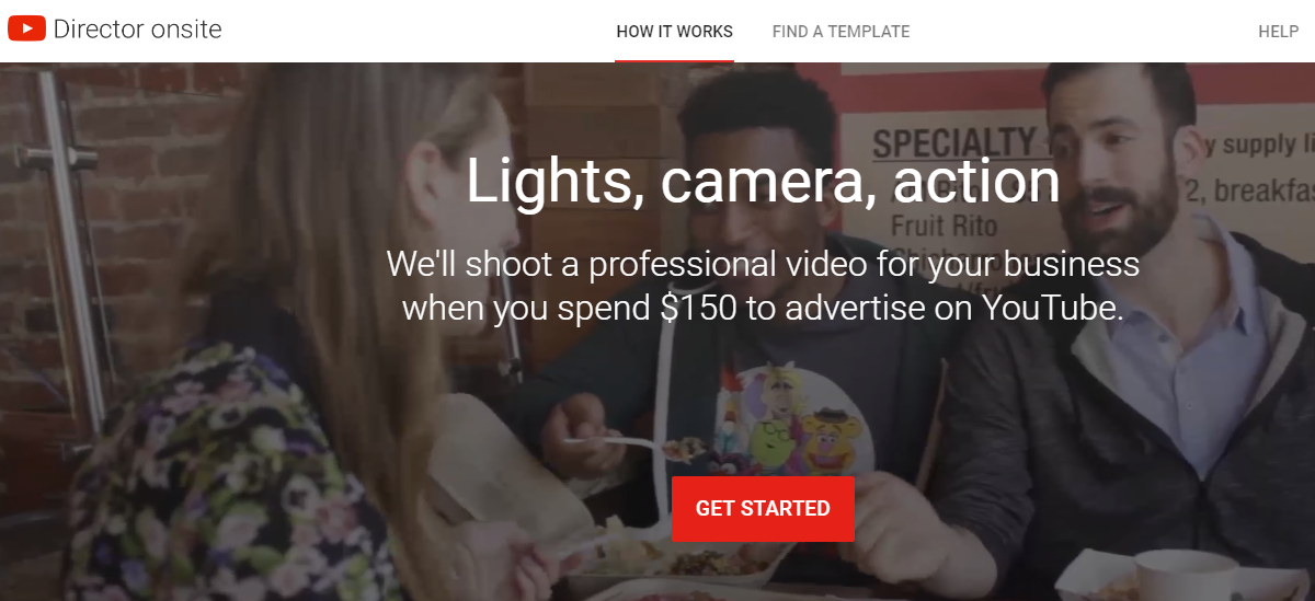 YouTube Will Create Your Business Video If You Spend $150 In Advertising