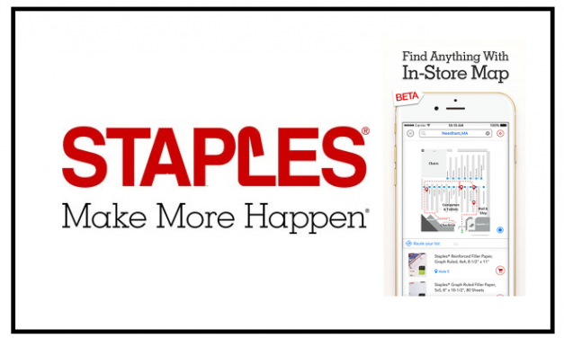 New Staples iPhone App Feature: Interactive Store Maps Makes OmniChannel Shopping a Breeze