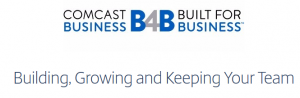 Comcast Business Webinar on August 2 – How to Build a Strong Team