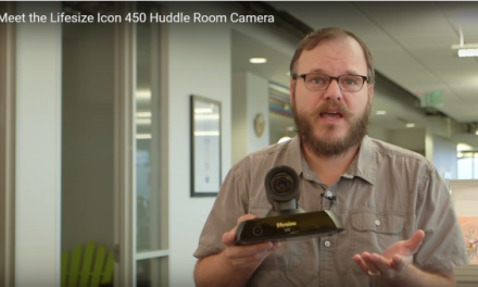 Conference Room Video Camera Self Adjusts and Moves. Great For Small Huddles