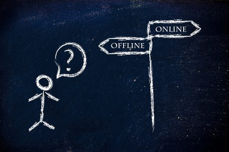metaphor humour design on blackboard online vs offline