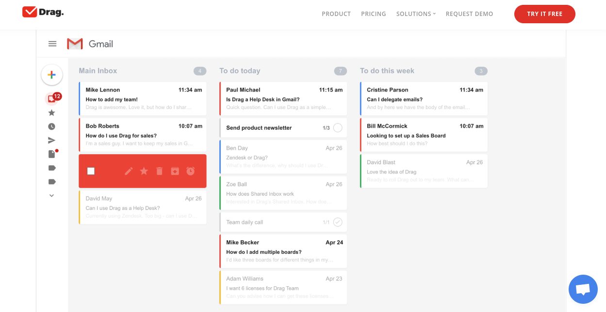Drag: Google Chrome Email Extension Aids In Task
