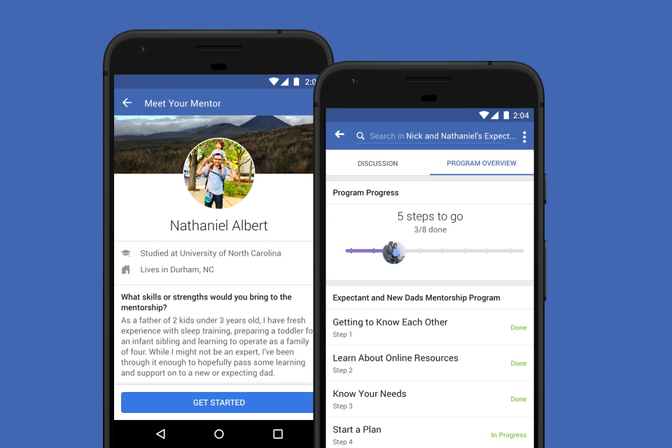 Facebook's Tools for Mentorship, Hiring and Education