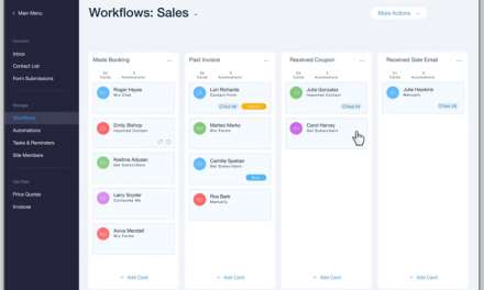 Wix Launches Simple Marketing Automation for Growing Businesses – Wix Ascend